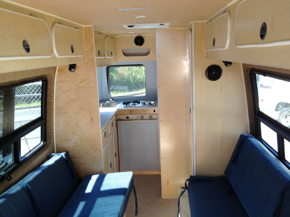 Custom Sprinter Van Conversions And Campers