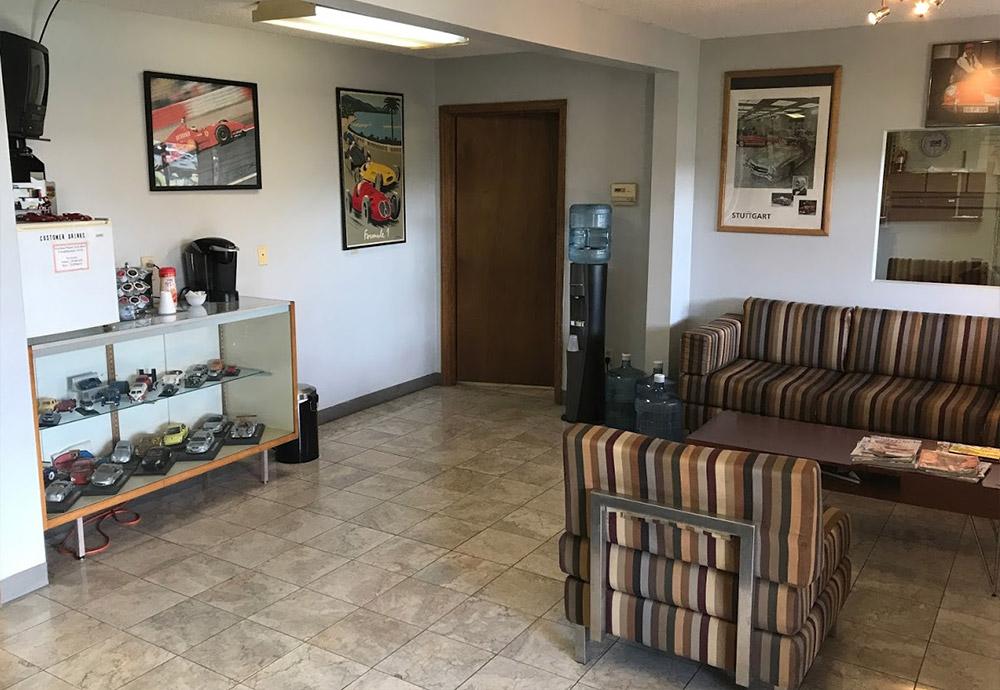 The Waiting Area of Our Auto Repair Shop in Alpharetta, GA