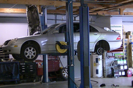 Mercedes Benz Repair Shop - Alpharetta - Metro Atlanta