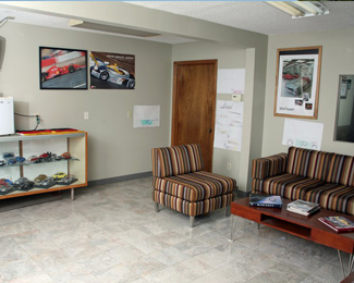 The Waiting Area of Our Auto Repair Shop