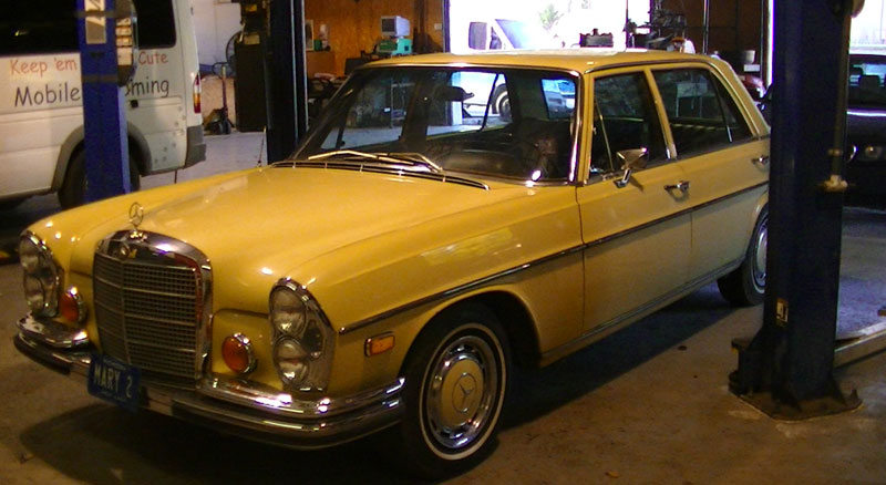 Vintage Mercedes Auto Repair